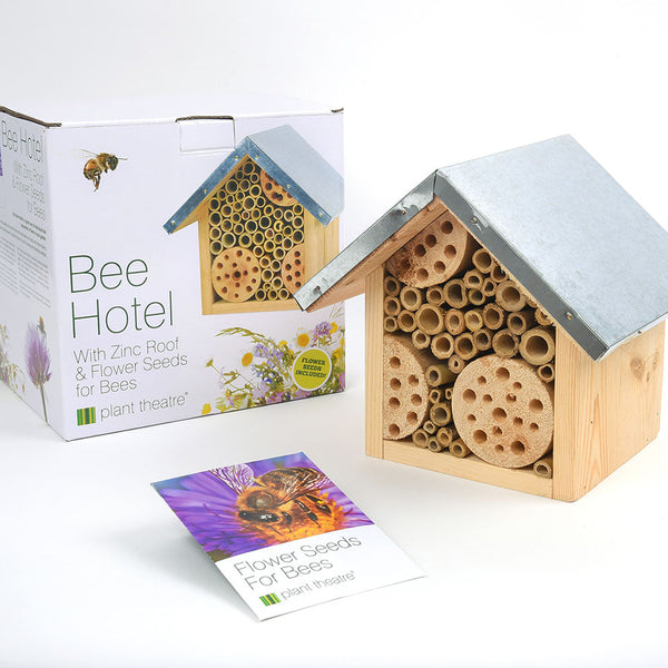 Bee Hotel with Zinc Roof