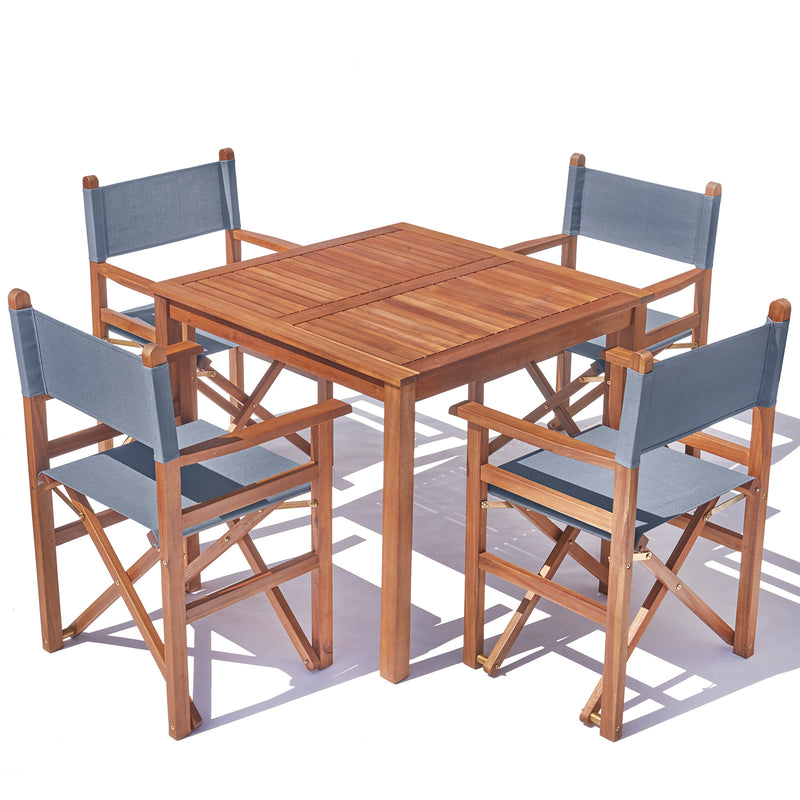 Super Sturdy Directors Hardwood Table