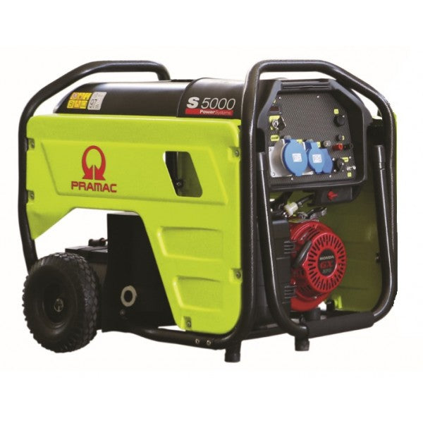 Pramac 5.3kVA Electric Start AVR Petrol Generator S5000