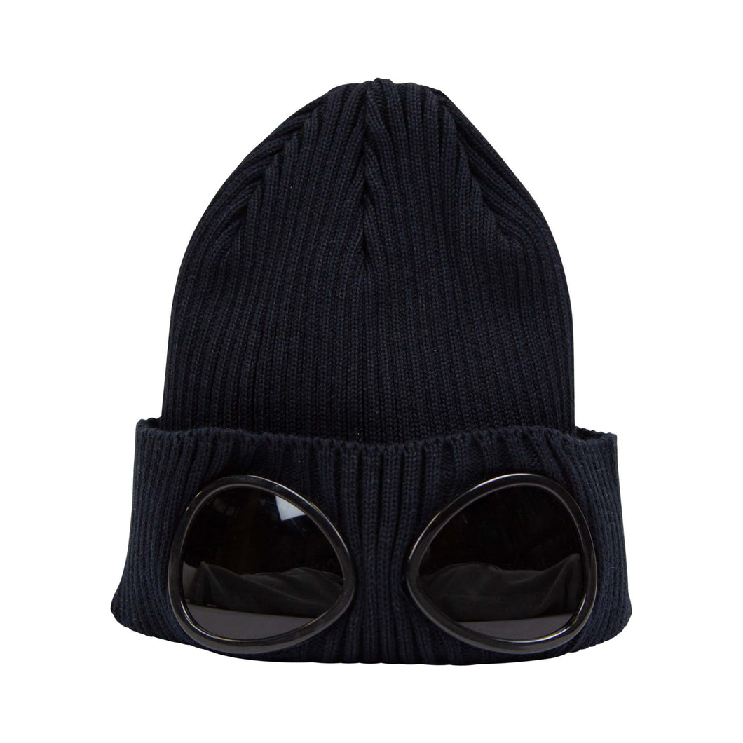 CP Company Junior Goggle Beanie In Navy