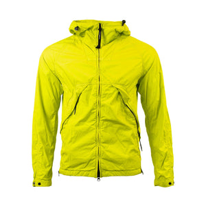 CP Company 50.3 Goggle Jacket in Lime Green