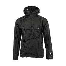 Load image into Gallery viewer, CP Company Nyfoil Goggle Utility Jacket in Black