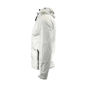 CP Company 50.3 Goggle Jacket in White