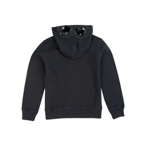 CP Company Junior Goggle Full Zip Hoody In Navy