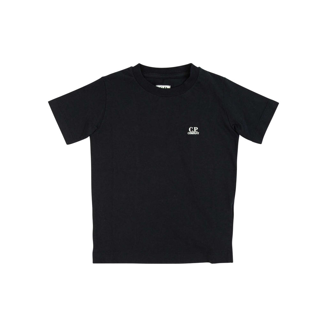 CP Company Junior Small Logo T-shirt In Navy