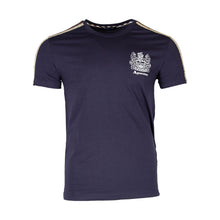 Load image into Gallery viewer, Aquascutum Logo Check T-shirt In Navy