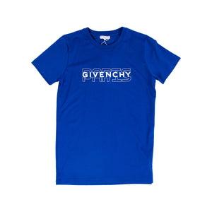 Givenchy Junior T-Shirt In Blue