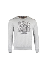 Load image into Gallery viewer, Aquascutum Crest Logo Sweatshirt In Grey