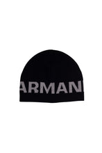 Load image into Gallery viewer, Armani Junior Beanie In Black