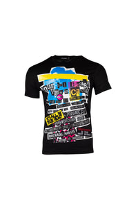 Dsquared2 Short Sleeve T-shirt In Black