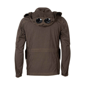 CP Company Quartz Goggle Jacket In Khaki