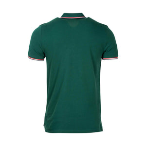 Moncler Maglia Short Sleeve Polo Shirt In Green