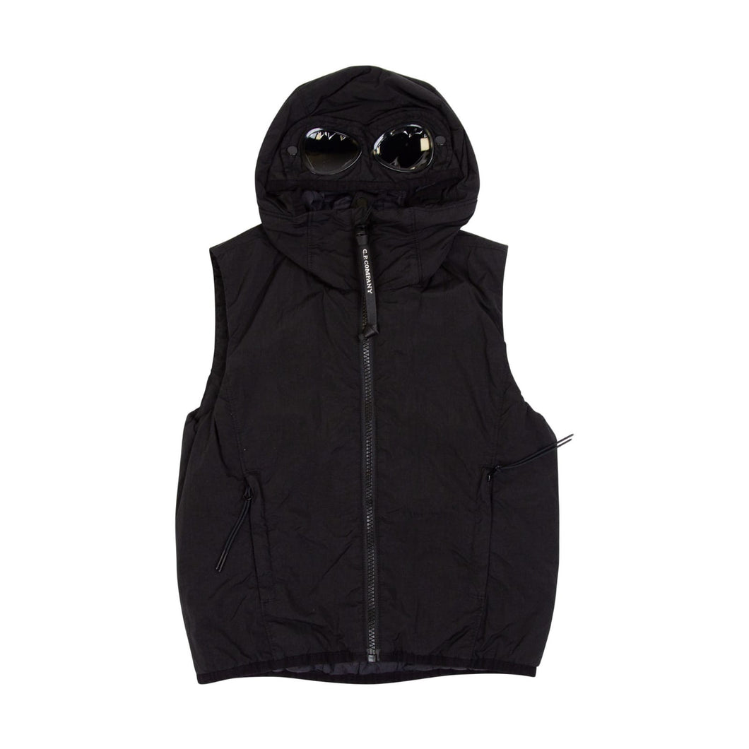 CP Company Junior Goggle Gilet In Black