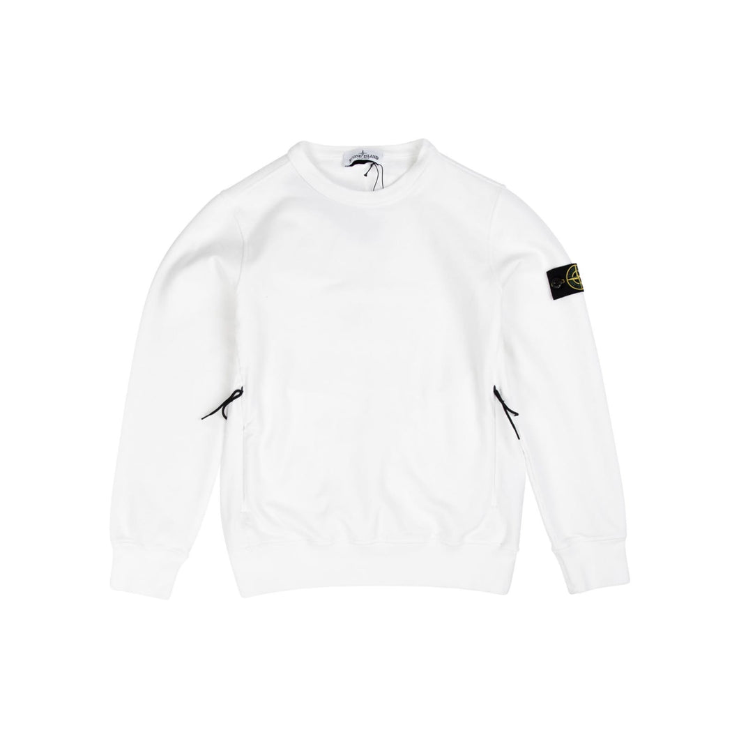Stone Island Junior Sweatshirt In White