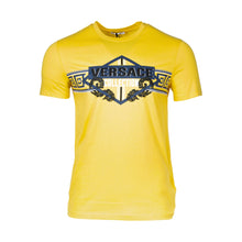 Load image into Gallery viewer, Versace Collection Logo T-shirt In Yellow