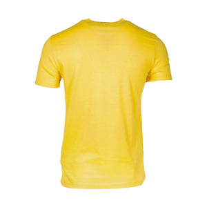 Versace Collection Logo T-shirt In Yellow