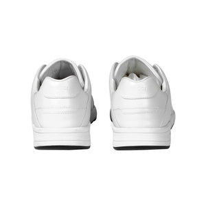 Gucci Leather Low Top Trainers In White