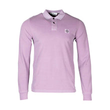 Load image into Gallery viewer, Stone Island Long Sleeve Polo Shirt In Pink 2SS67