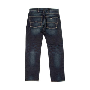 Armani J45 Slim Fit Indigo Denim Jeans