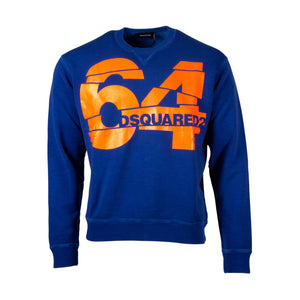 "Dsquared2 Printed "" 64 "" Sweatshirt"