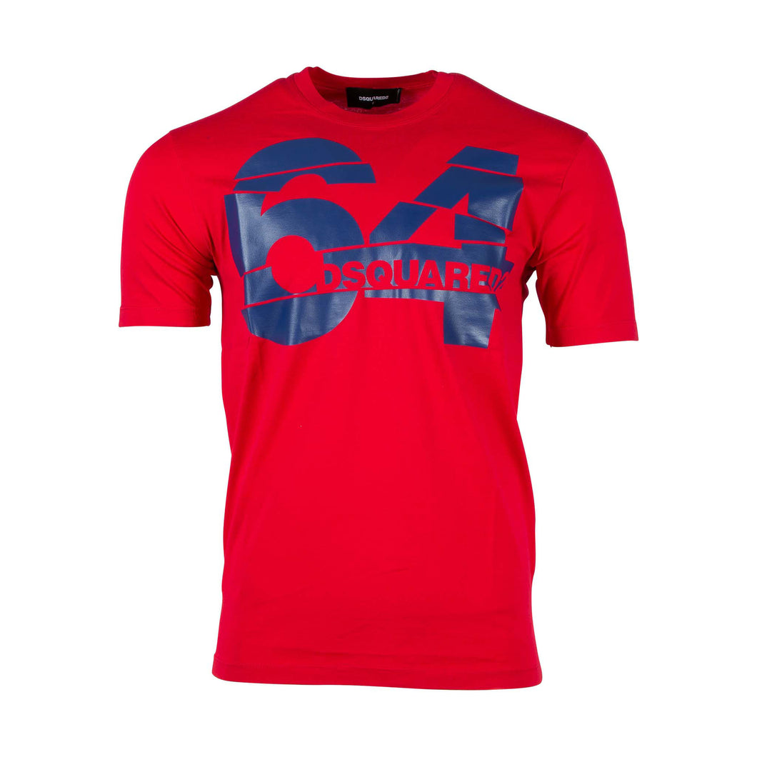 Dsquared2 Short Sleeve T-shirt In Red