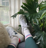 Boyfriend Socks - Milk