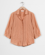 Chelsea Blouse - Muted Clay