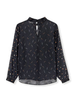Adara Blouse - Black Amber