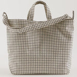 baggu horizontal ducks bag natural grid