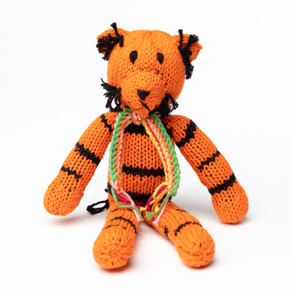 Tiger Cotton Toy