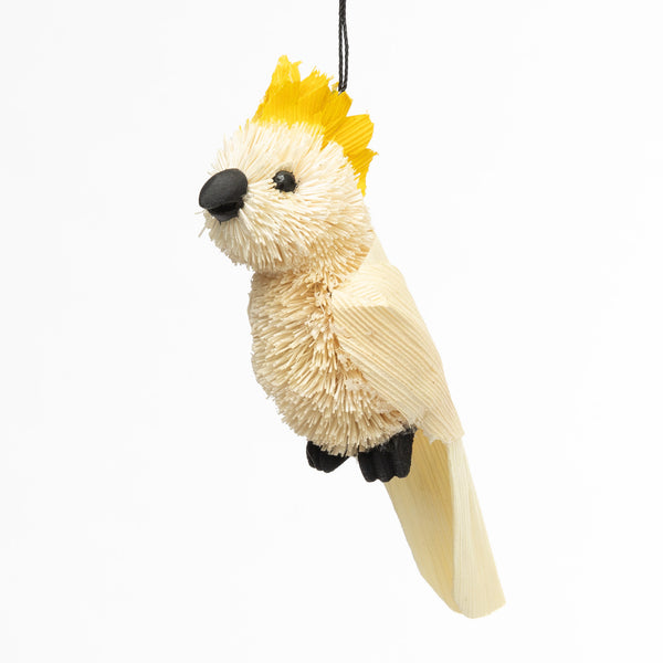 Cockatoo ornament