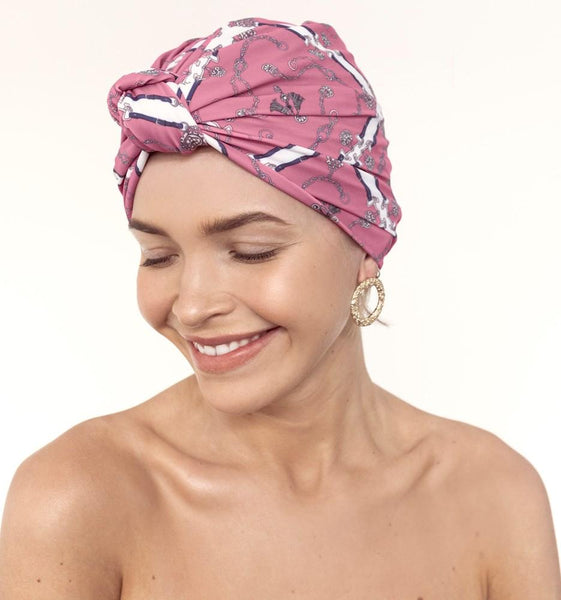 Dahlia Shower Turban - Mayfair