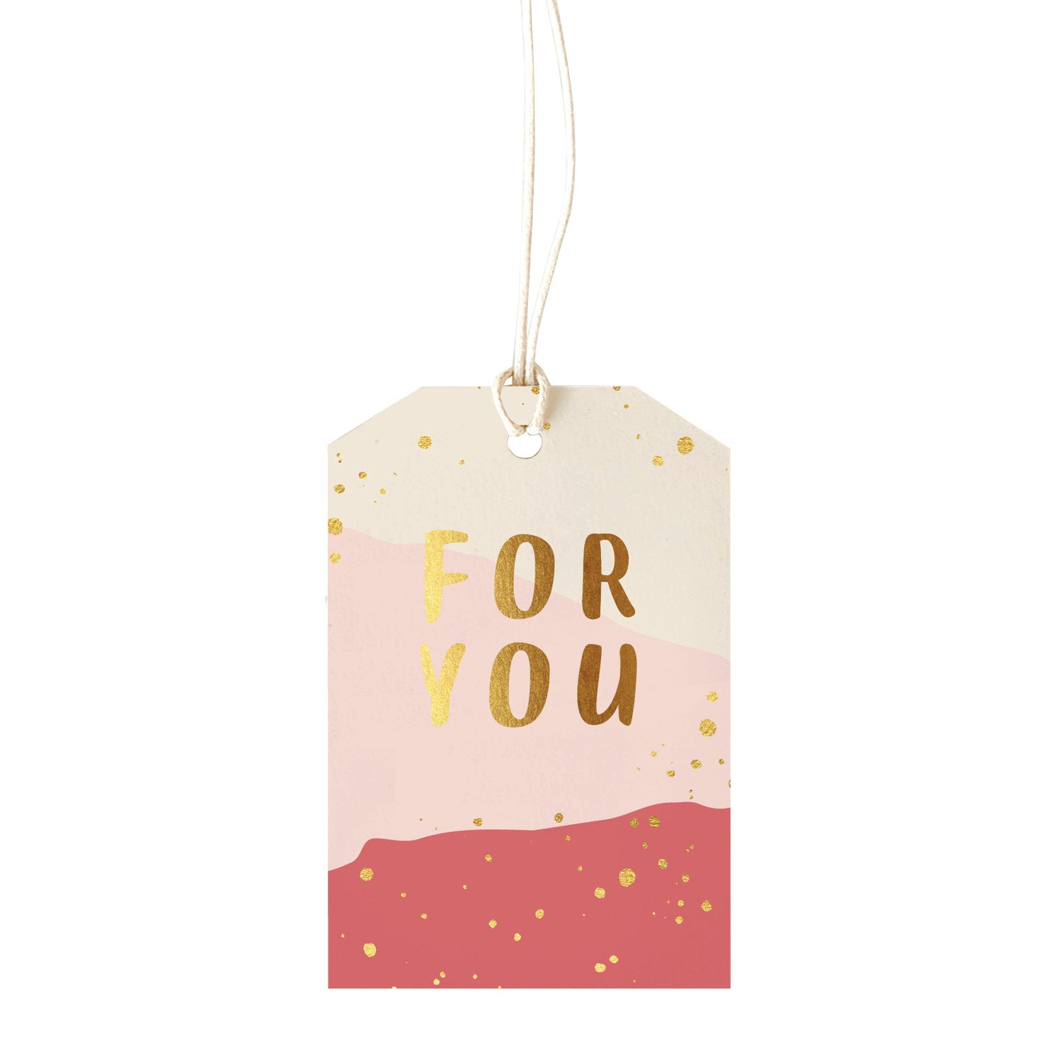 Gift Tag - For You - pink