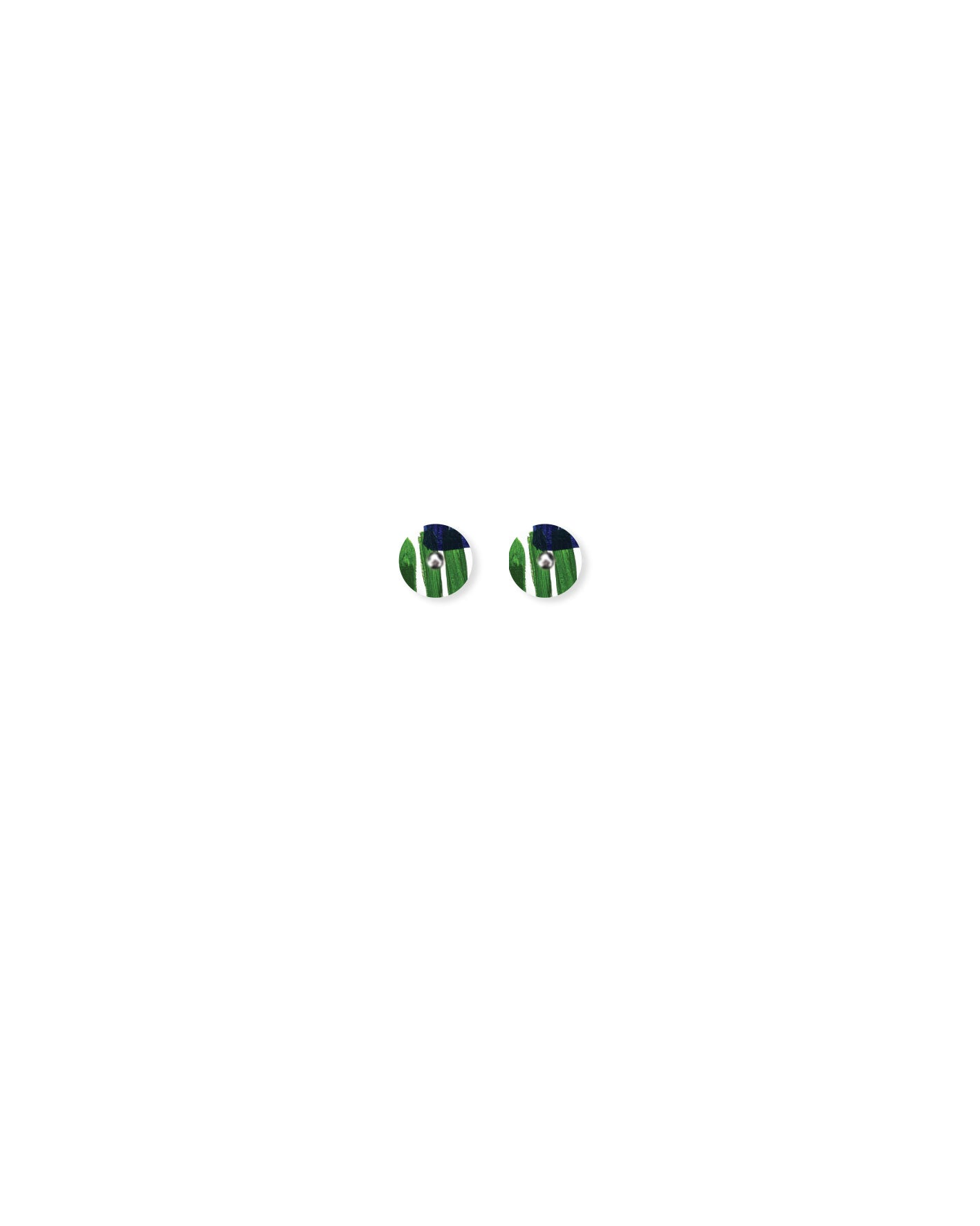 Mini Circle Stud Earrings - Kate Mayes / Hero