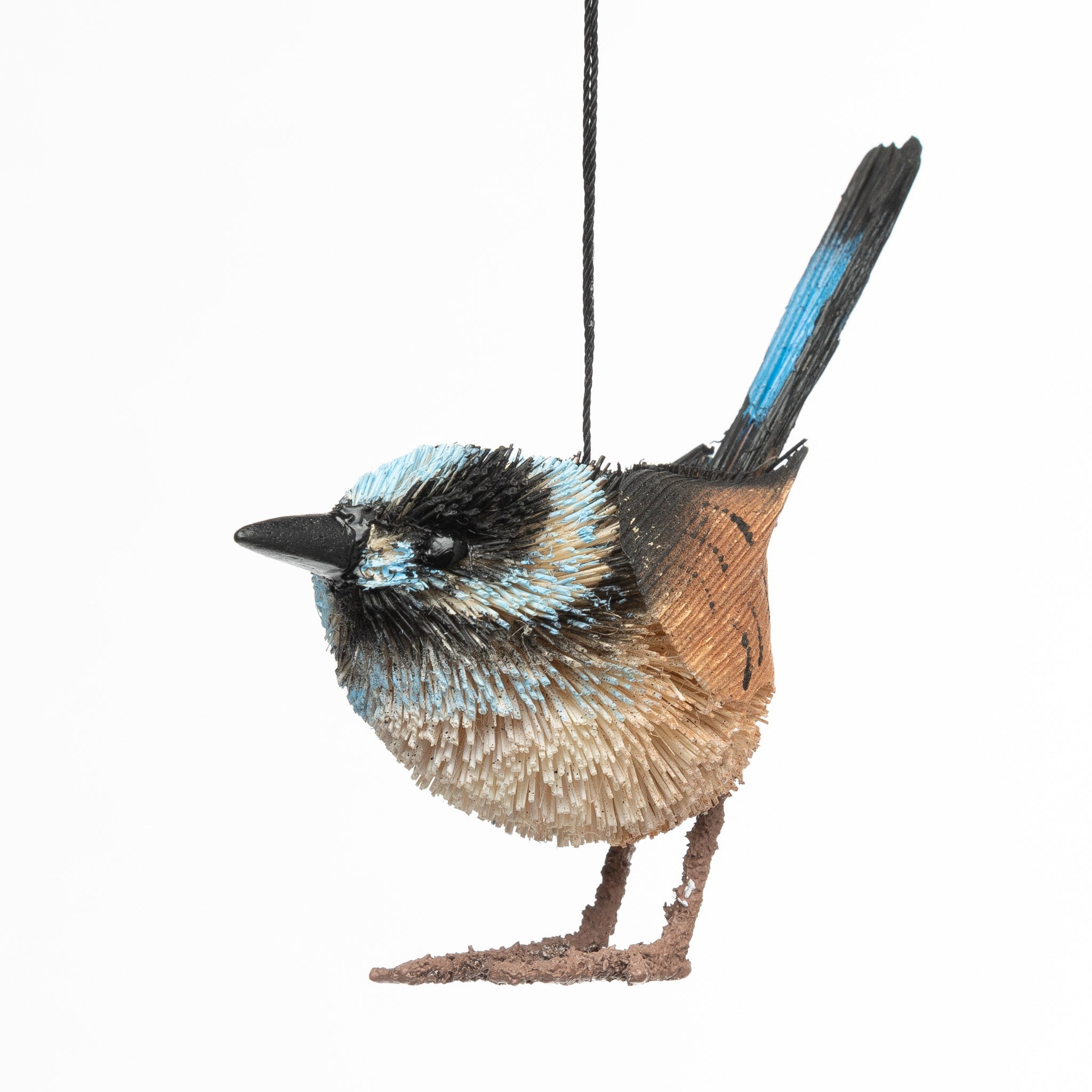 Blue Wren ornament