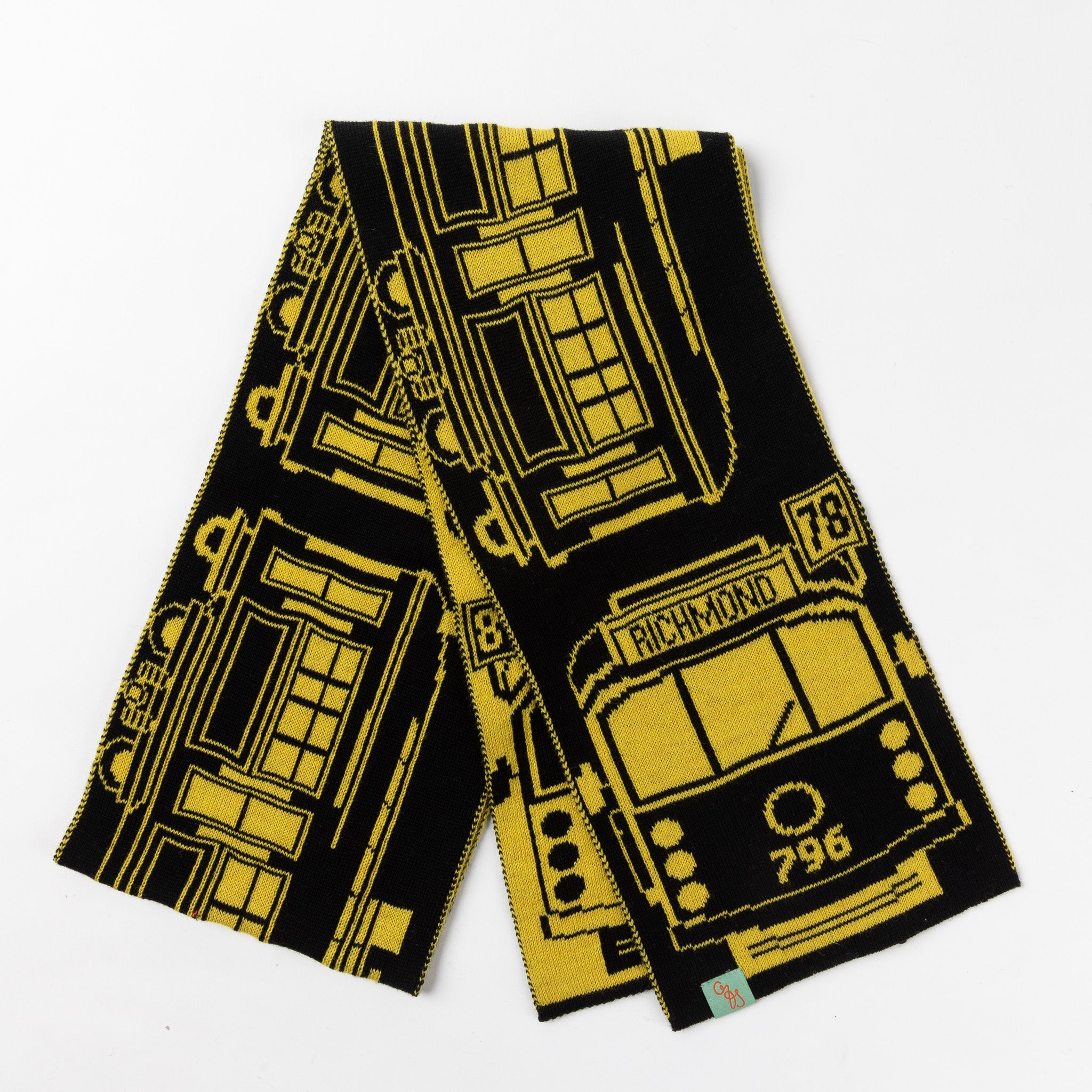 Richmond Tram Scarf - Go Tiges!