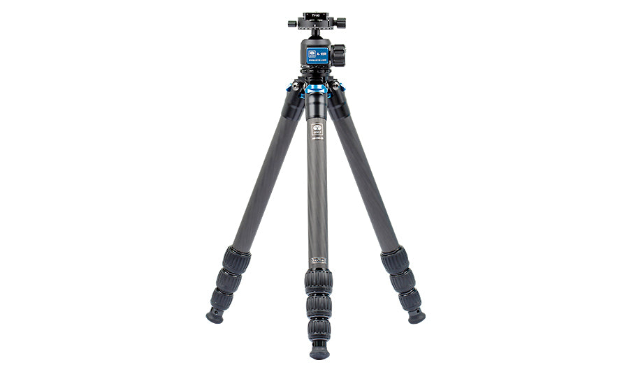 SIRUI AM2-Series AM-284 ProfiLegs Carbon Fiber Big Tripod with A-10R Ball Head (Black)