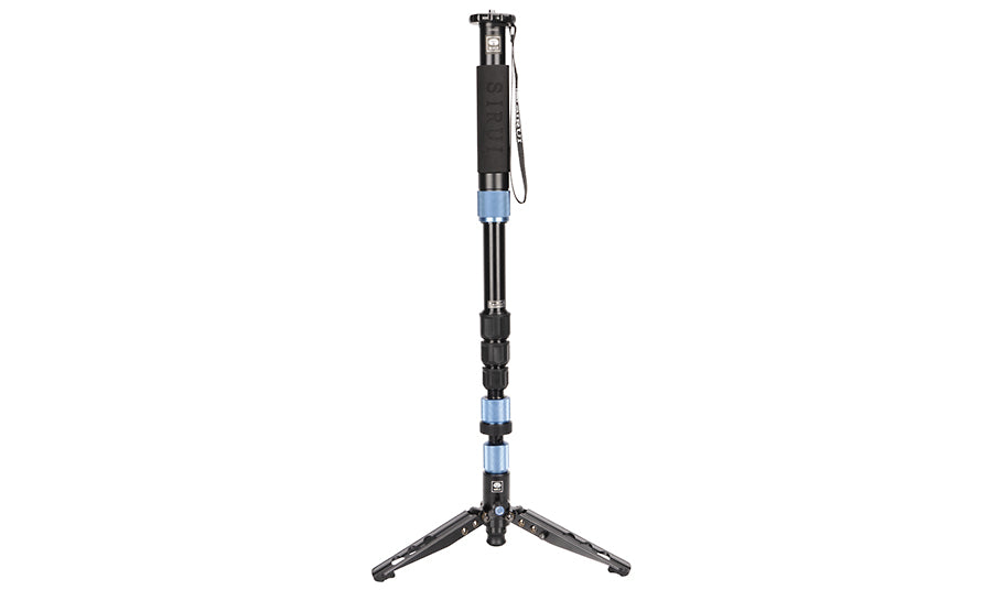 SIRUI AM-204V Monopod with Stand Spider 20° Tilting 360° Rotation Aluminium Height 160 cm Weight 1.4 kg Load 8 kg