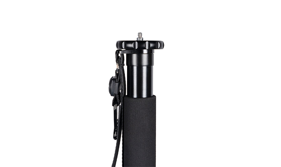 SIRUI AM-306M Aluminium Monopod Height 155 cm, Weight 0.56 kg, Max Load 8 kg with Carabiner and Compass