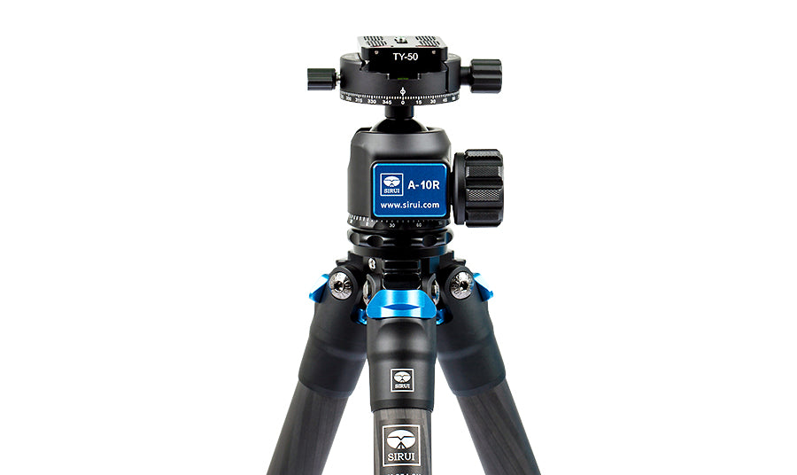 SIRUI AM-254 Carbon Fiber Medium Tripod with A-10R Ball Head (Black)