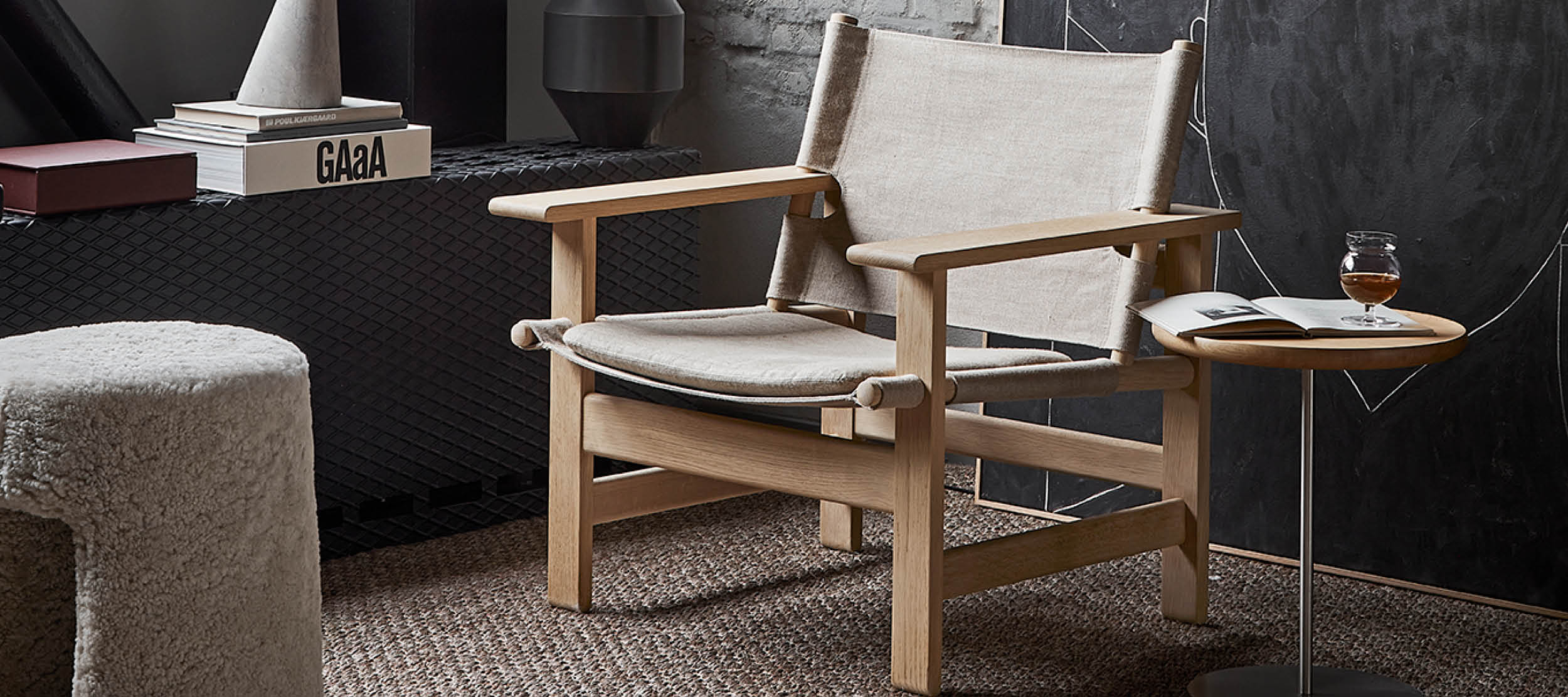 The Canvas Chair fra Fredericia