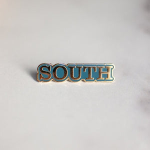 SOUTH Enamel Pin