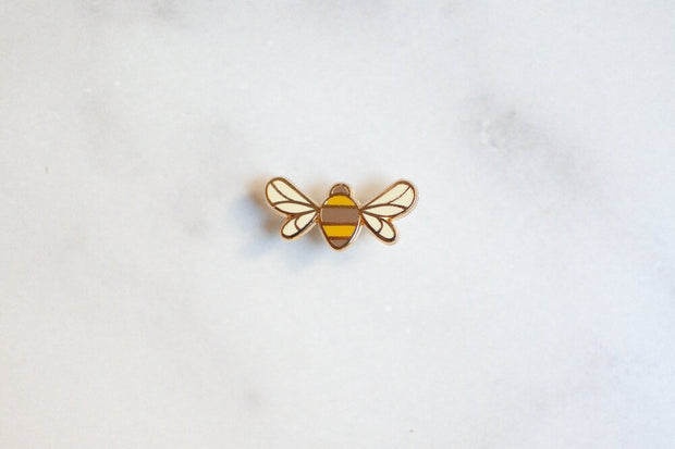 Bee Enamel Pin 1
