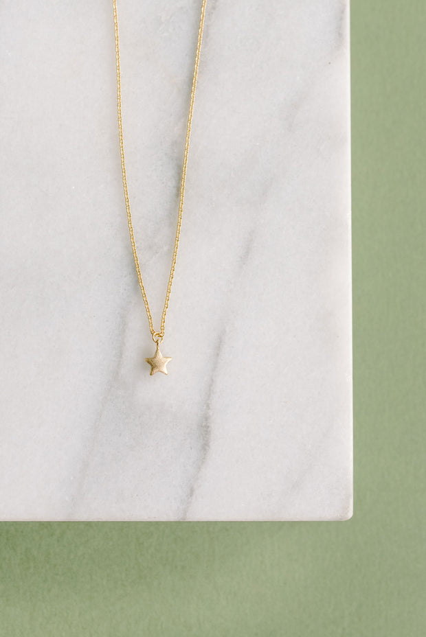 """Star Necklace 14"""" or 18"""" 1"""