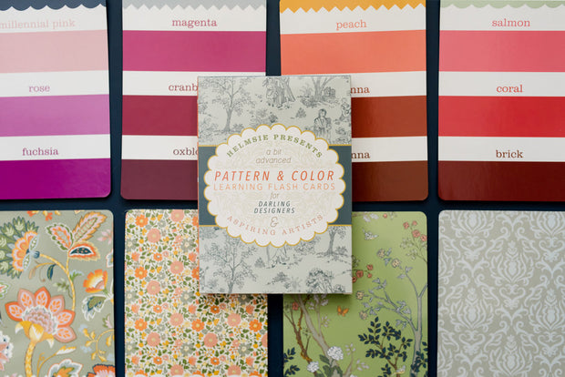 Pattern and Color Flashcards 1