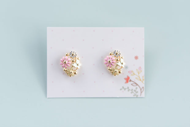 Floral Earrings 1