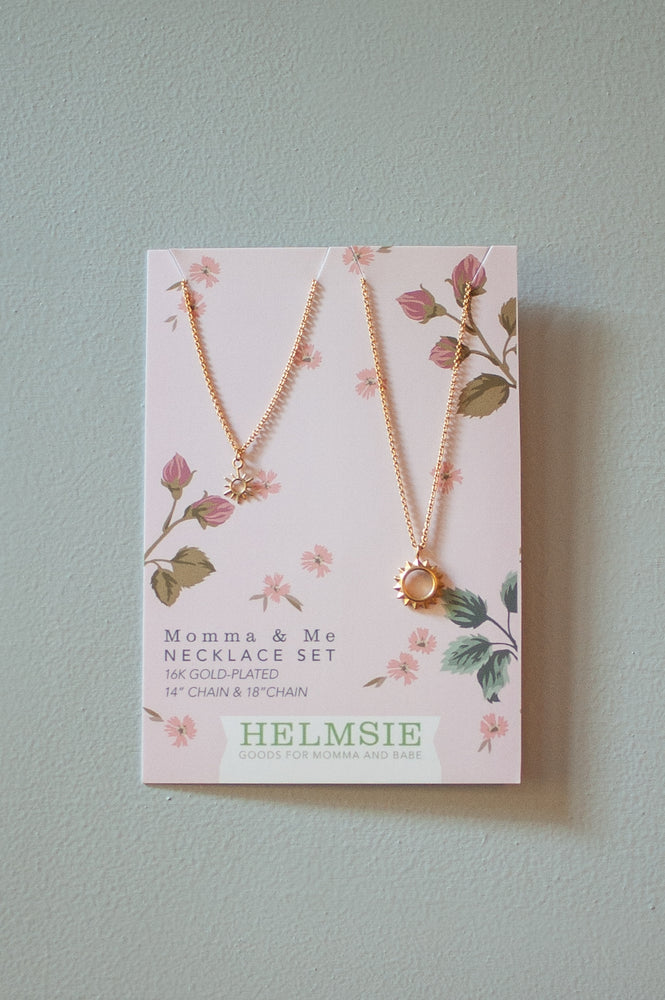 Momma & Me Sunshine Necklace Set
