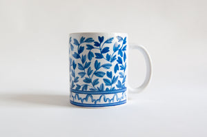 Blue and White Mama & Me Cup Set