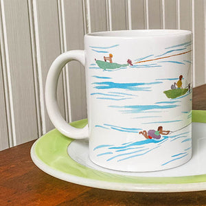 Load image into Gallery viewer, Water Ski Ceramic Mug