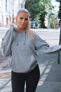 Isabelle | You look beautiful | Hoodie | Grå